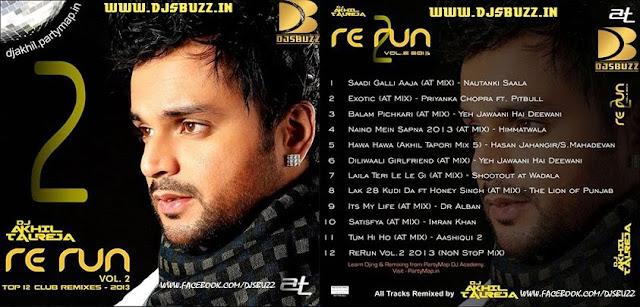 ReRUN VOL.2 BY DJ AKHIL TALREJA
