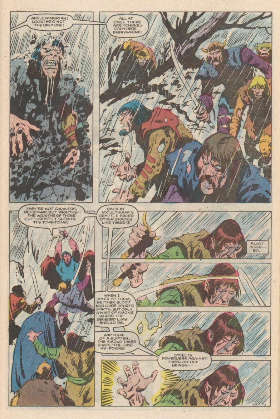 Conan the Barbarian (1970) Issue #170 #182 - English 14