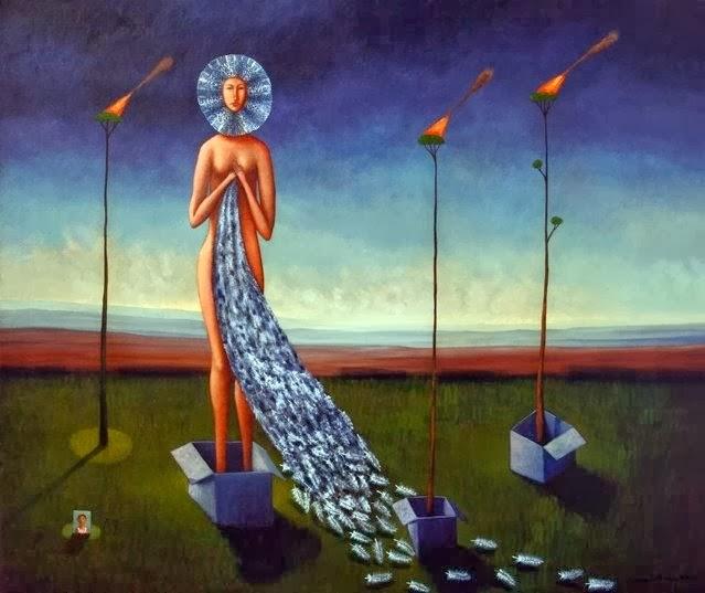 Chilean artist Edwin Rojas