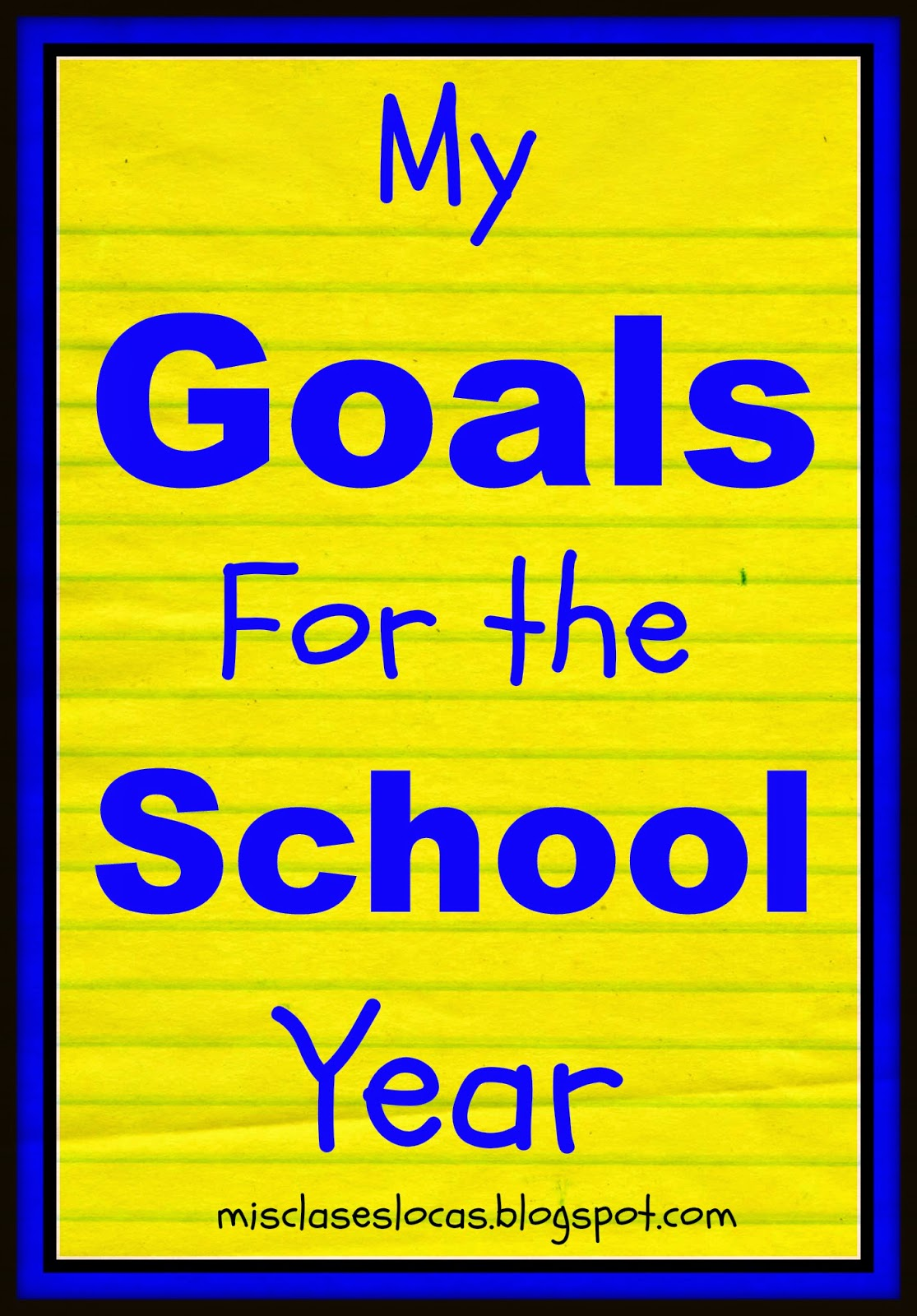 goals in school Edit article how to achieve your goals for the new school year three parts: getting in the right mindset working towards your goals staying on track community q&a it's a great idea to make goals at the beginning of the school year to better yourself as a student and person.