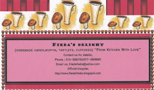 fieda's delight biz card~