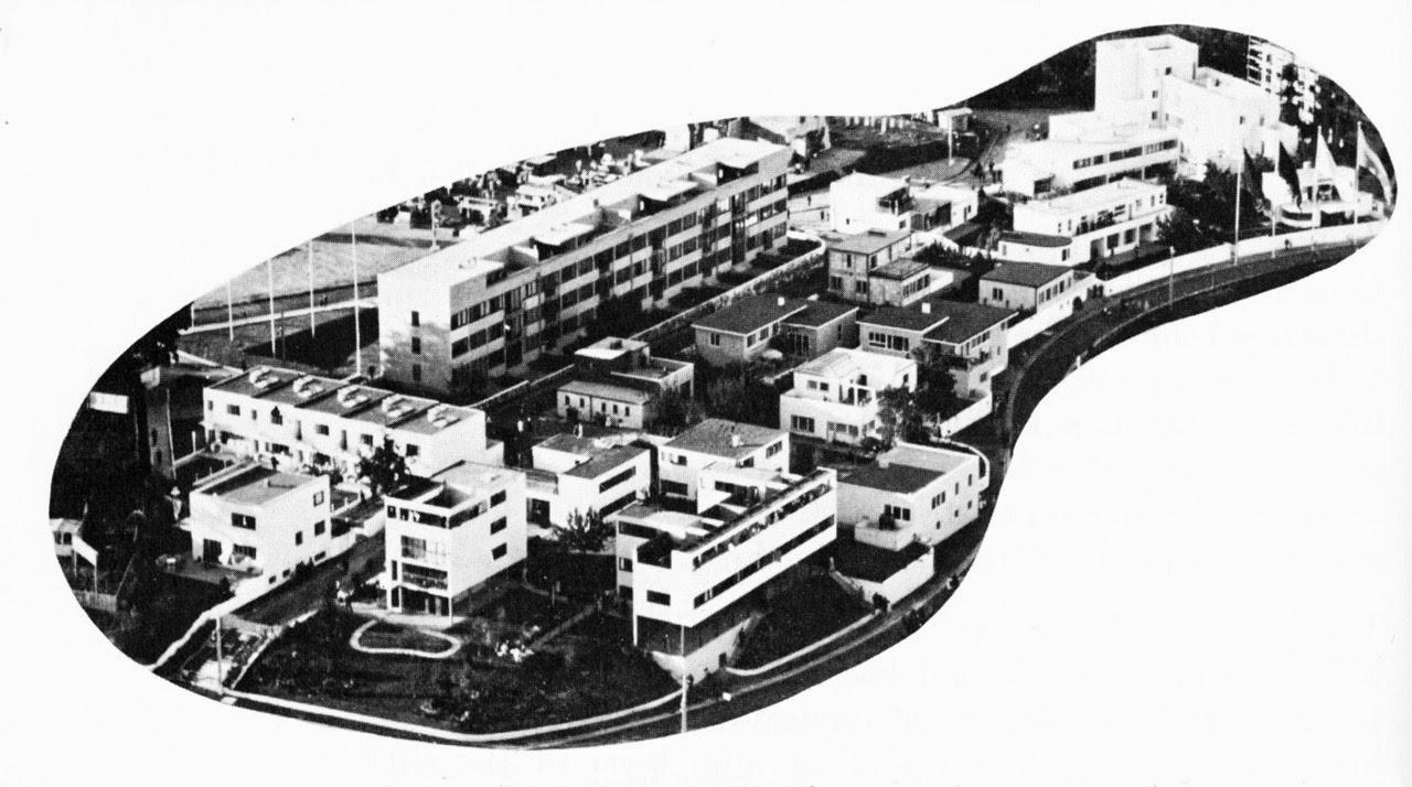 Hasxx teor a weissenhof siedlung stuttgart 1927 for Villas weissenhofsiedlung