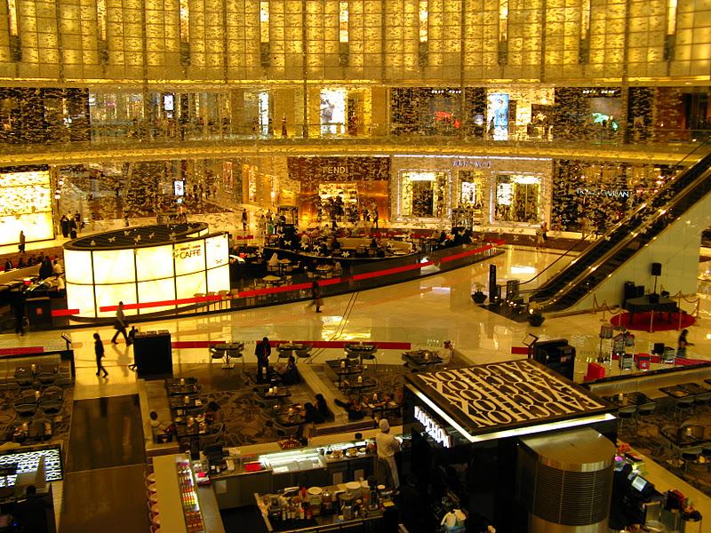 Dubai la ville ou tout est possible very cool trip for Centre commercial grand tour