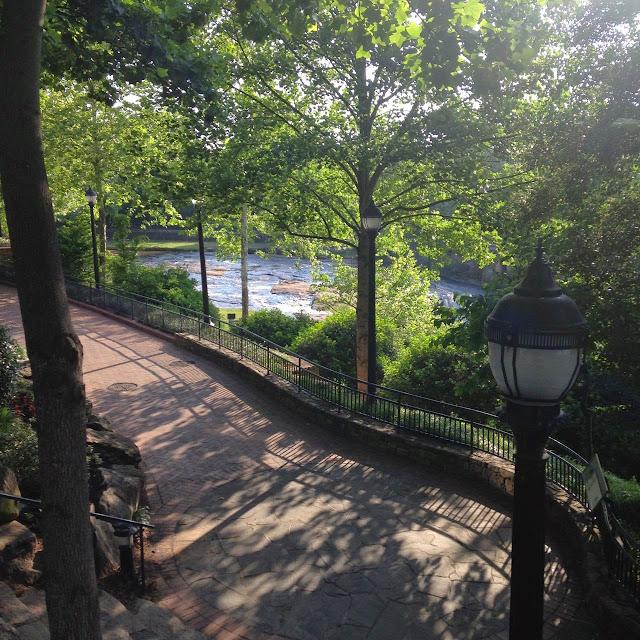 Reedy River walk