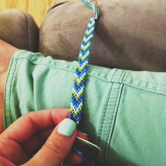 Hey Natalie Jean Friendship Bracelets On A Rainy Day