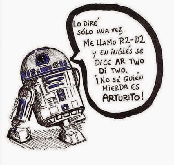 Se llama R2-D2