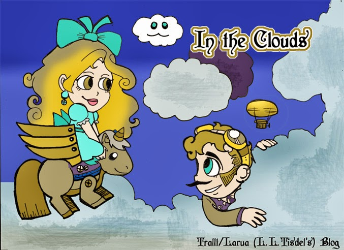 In the Clouds (An Illustrated Blog)