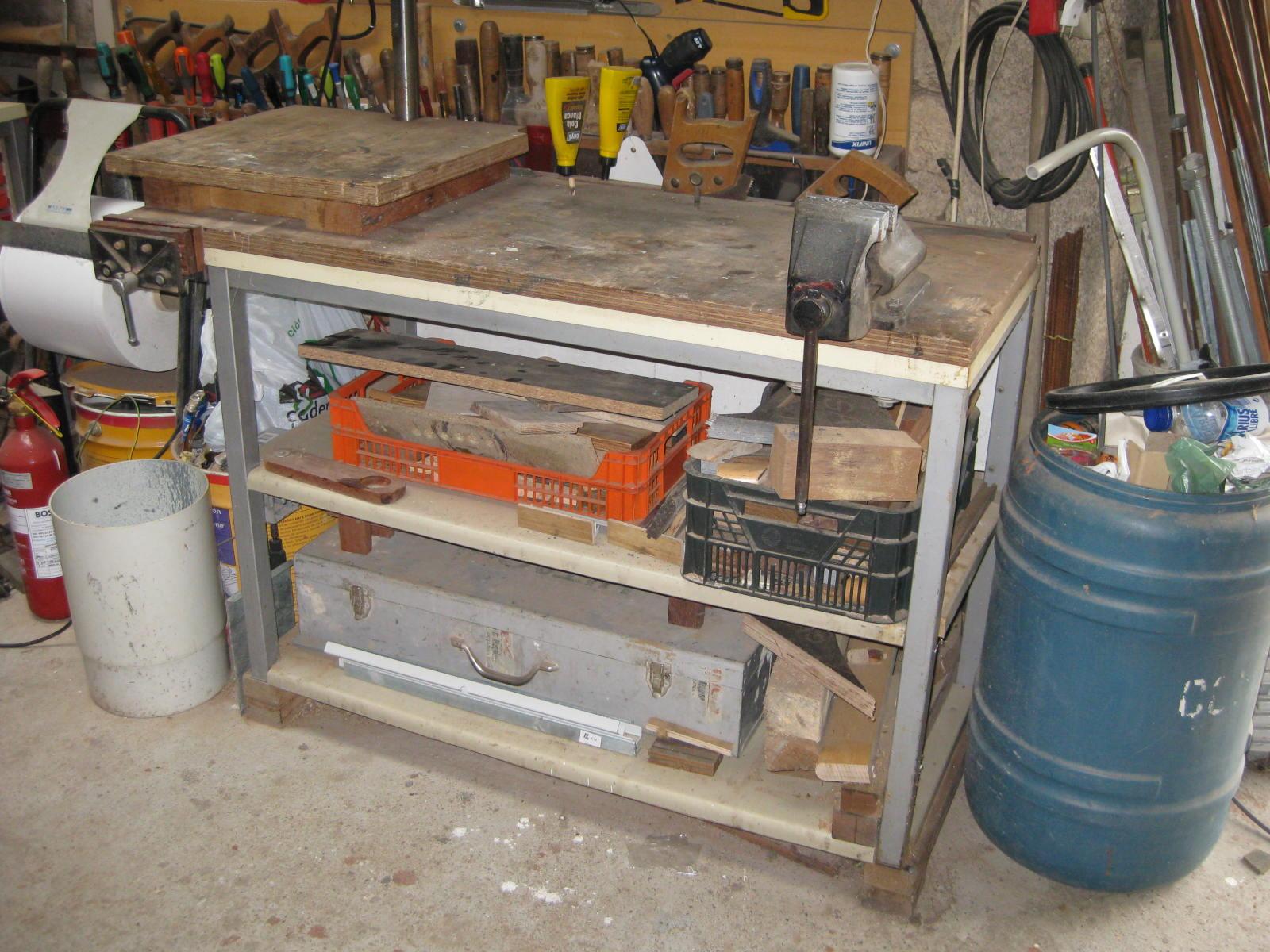 Bricolaje oficios y otras cosas mi taller - Mesa trabajo taller ...