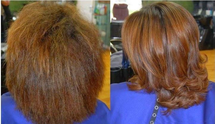 وصفة لتنعيم الشعر الخشن والجاف