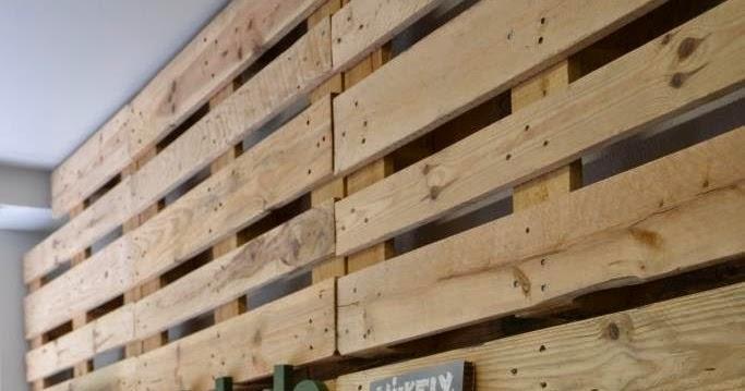 Mi kely reciclaje de palets una pared de madera y algo - Reciclaje de palet ...