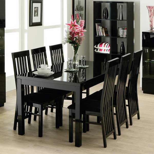 Wood Kitchen Tables And Chairs Sets Ideas With Enchanting: Harga & Model Meja Makan Minimalis Terbaru