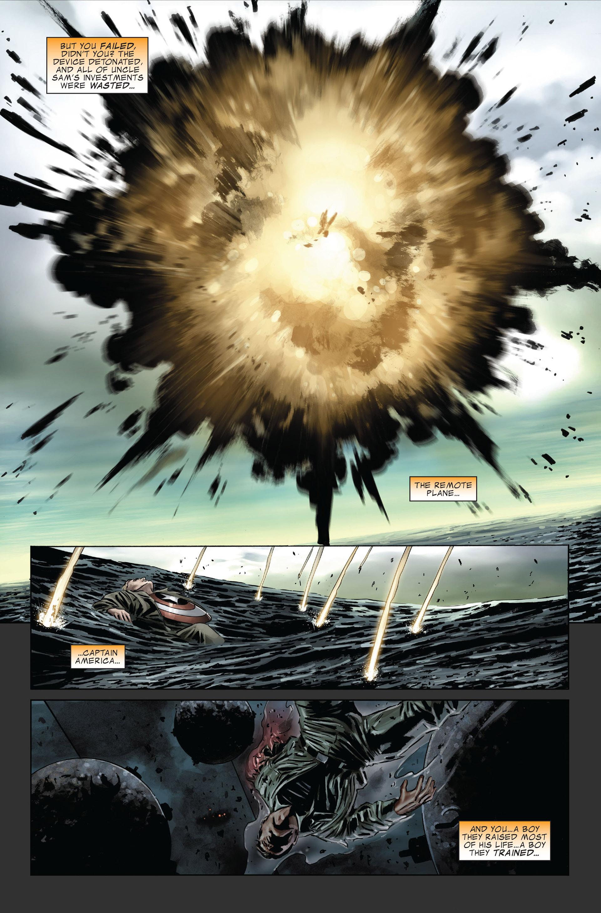 Captain America (2005) Issue #31 #31 - English 19