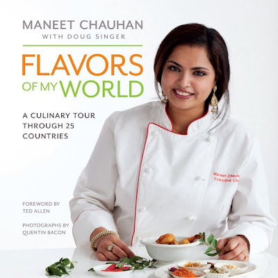 Chef Maneet Chauhan, Flavors of My World Book Cover
