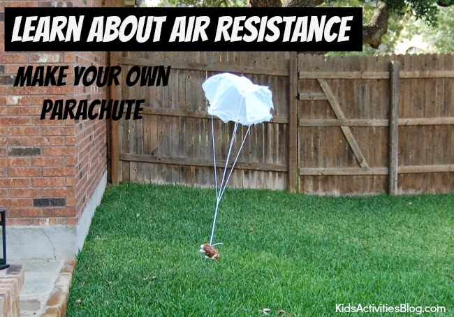 how to make a parachute to hold an egg