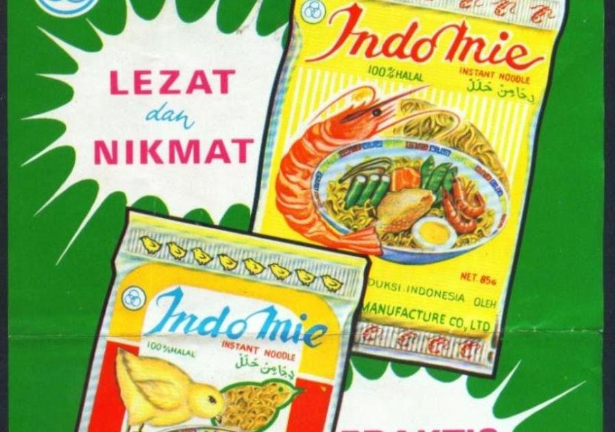 """Koleksi Tempo Doeloe: Iklan jadul """"Indomie"""", dari awal th"""