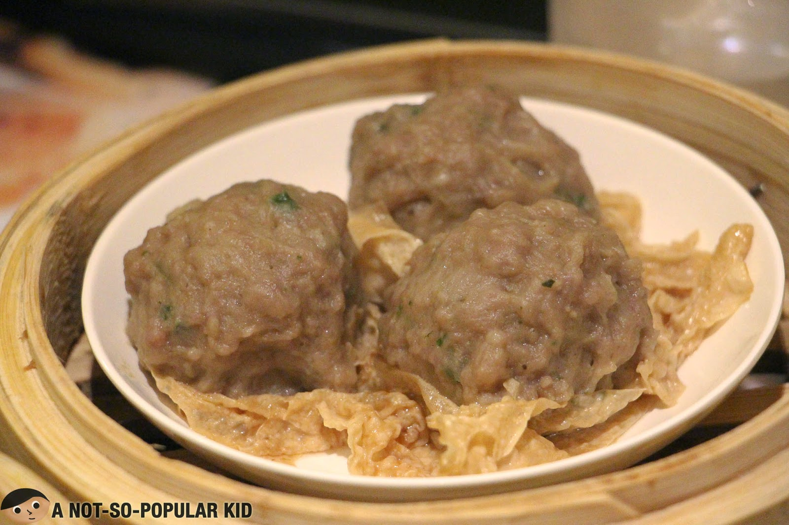 Beef Ball with Beancurd Skin of Tim Ho Wan