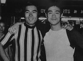BRUCE LEE & YAZUAKI KURATA