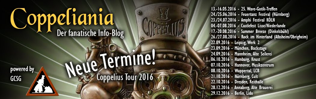 Coppeliania - Fanblog für Coppelius Fans
