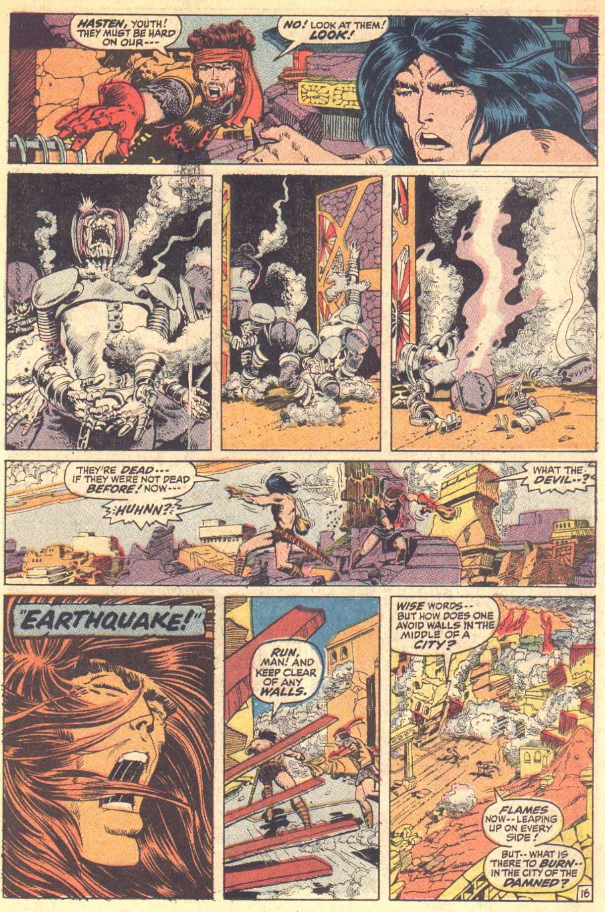 Conan the Barbarian (1970) Issue #8 #20 - English 17