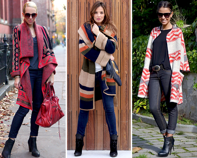 Como combinar una chaqueta gris de lana