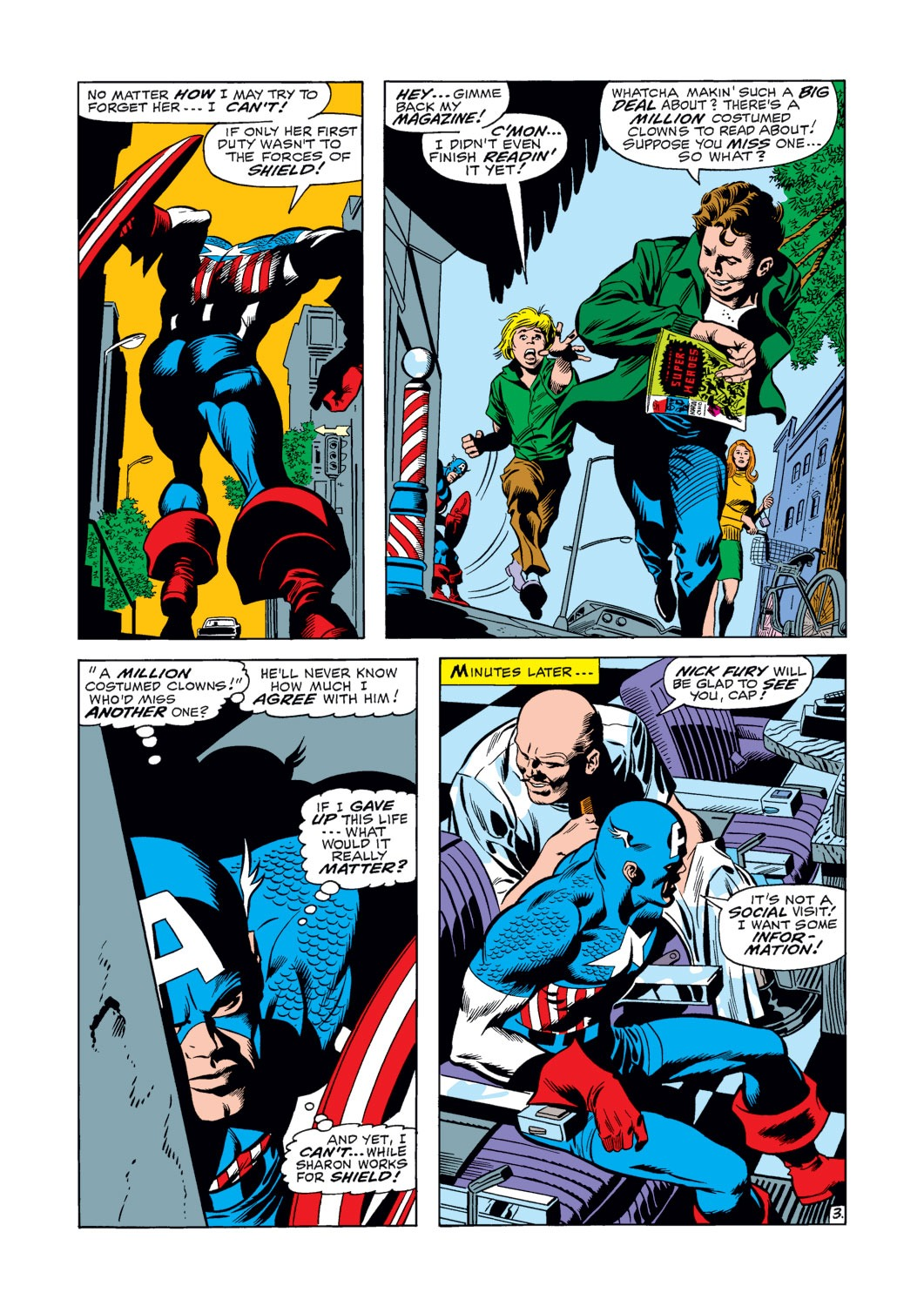 Captain America (1968) Issue #120 #34 - English 4