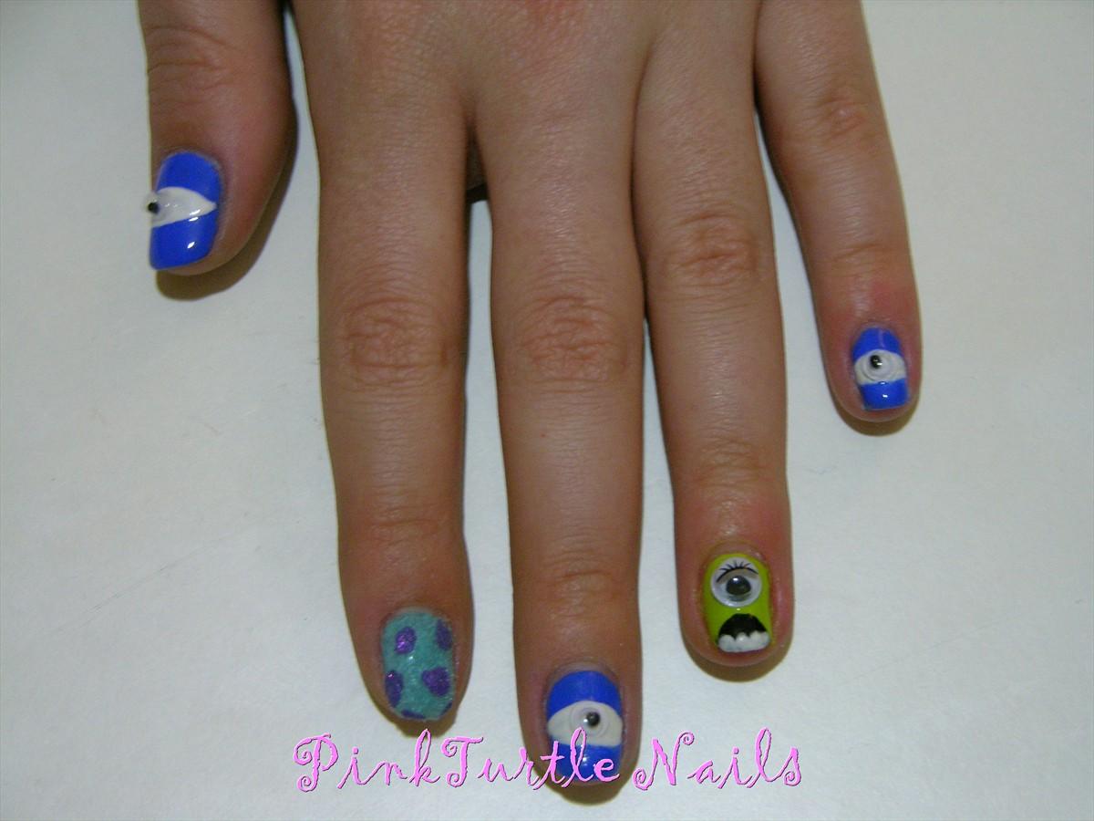 PinkTurtle Nails: Reto 12 Manicuras: inspirada en Disney