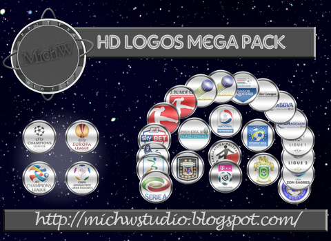 PES 2014 Mega Pack Logos HD by Michw Studio