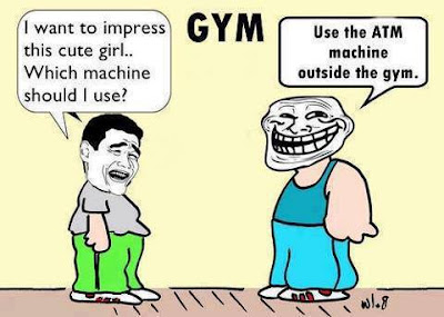 Use the ATM machine