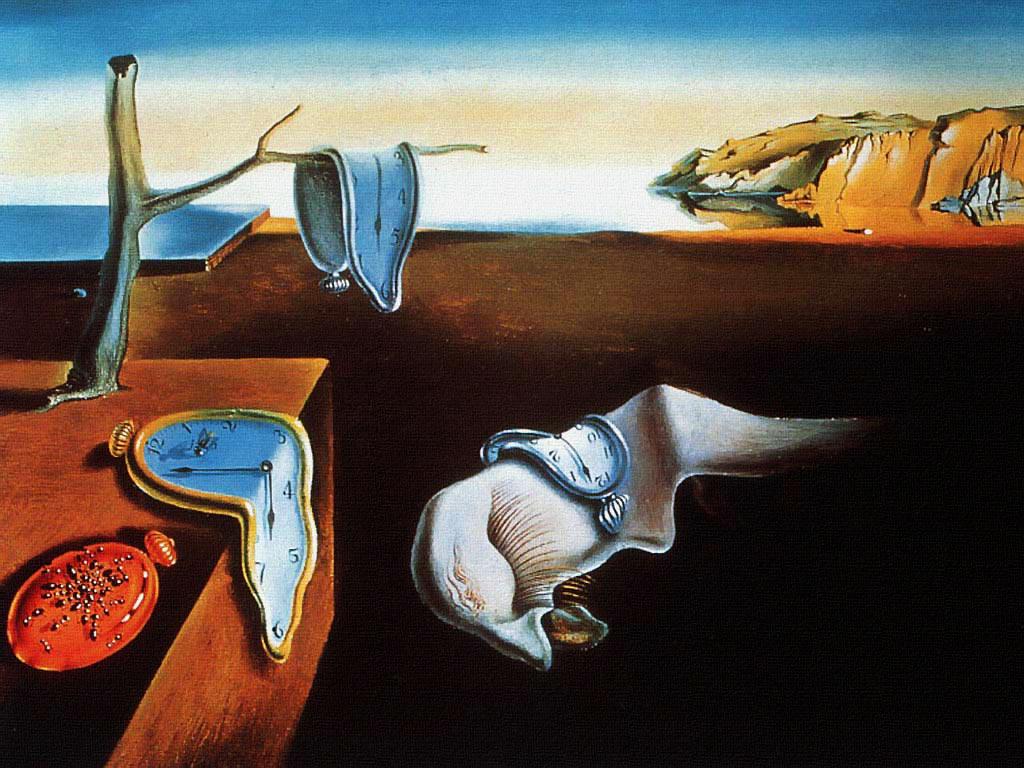 cuadros que ver: La persistencia de la memoria - Salvador Dali