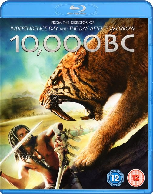 10,000 BC 2008 Hindi Dubbed Dual BRRip 300MB