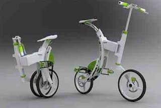 Grasshopper: Folding Electric Bike|Data 7 Konsep Sepeda Paling Unik Dan Kreatif