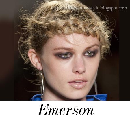 небрежна прическа сплетена коса