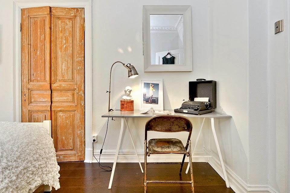 amenajari, interioare, decoratiuni, decor, design interior , birou, vintage, mobilier, retro