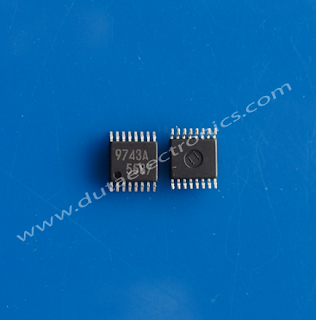 Jual IC 9743A (TSSOP-16 PIN)