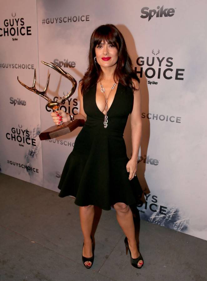 Salma Hayek – Spike TV's Guys Choice 2015 in Culver City