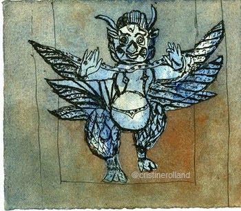 Garuda bleu