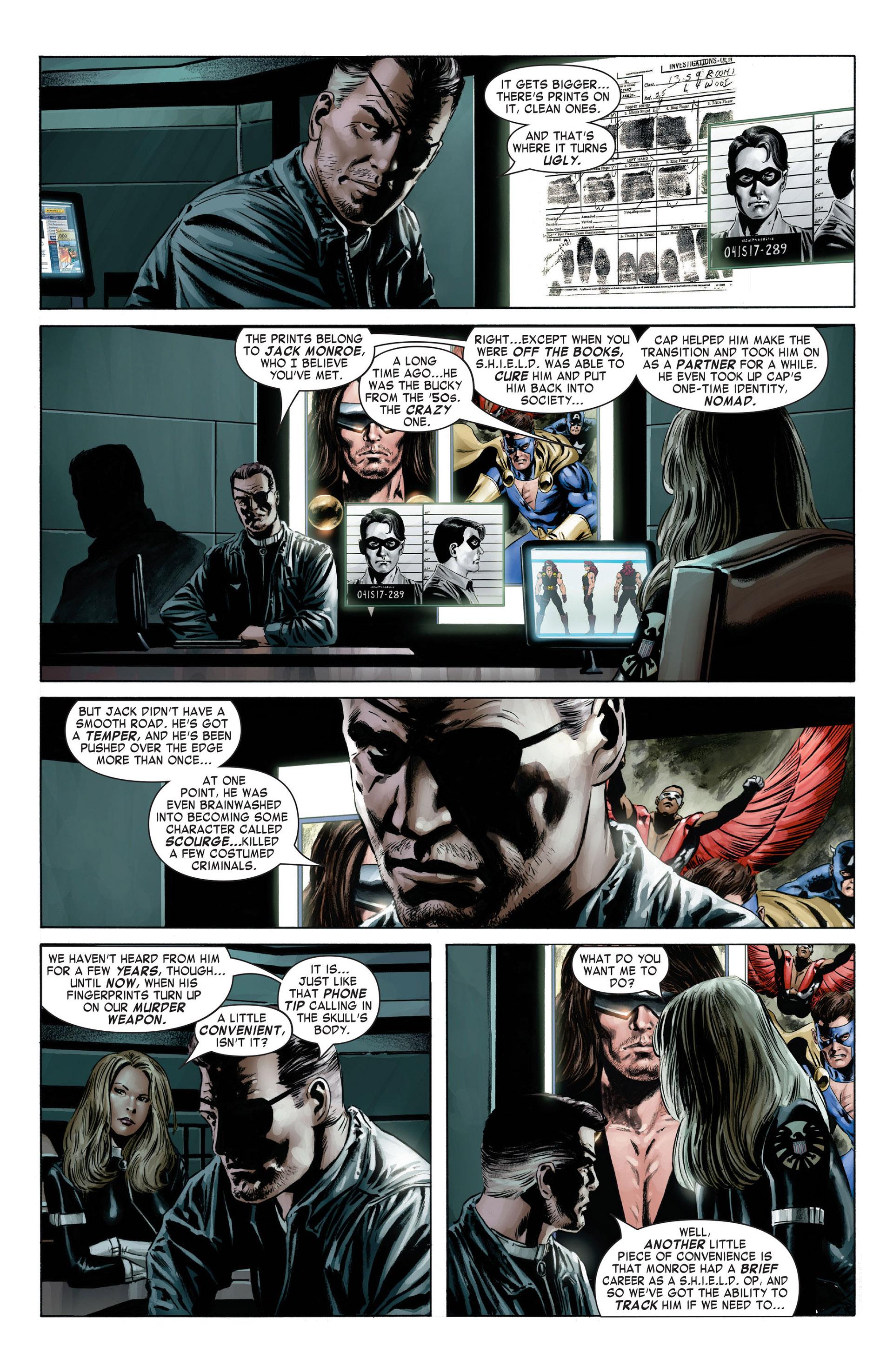 Captain America (2005) Issue #4 #4 - English 6