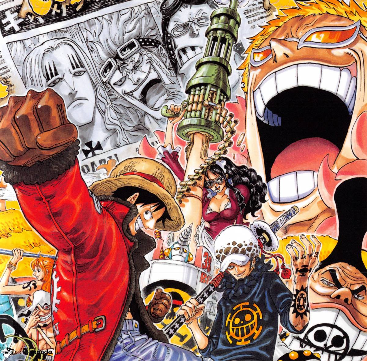 One Piece - What Dressrosa's forgot - 2