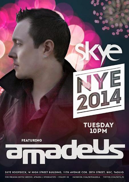 Skye NYE 2014 party