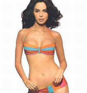Malliak Sherawat in a bikini