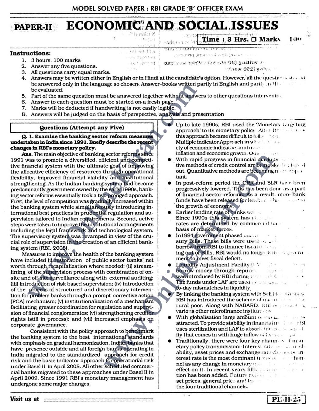 rbi research officer question paper Rbi grade b officer syllabus phase i & ii 2015 pdf rbi grade b officer question paper pdf: junior research vacancies apply online at drdogovin.