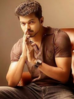 Actor Vijay 240x320 Mobile Wallpaper