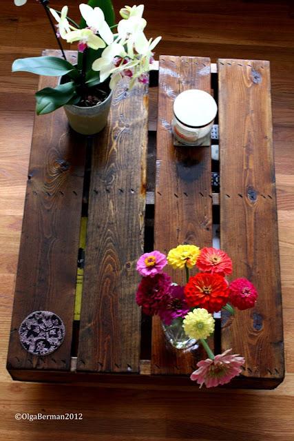 table basse palette