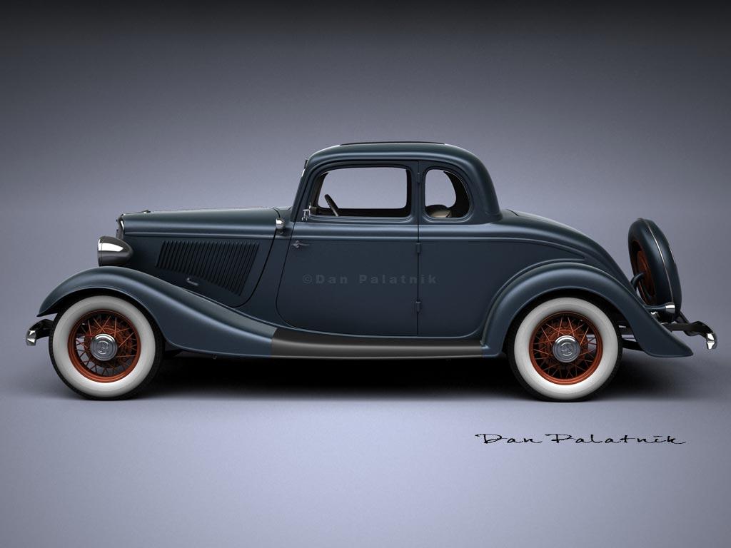 A garagem digital de dan palatnik the digital garage for 1933 ford 4 door sedan