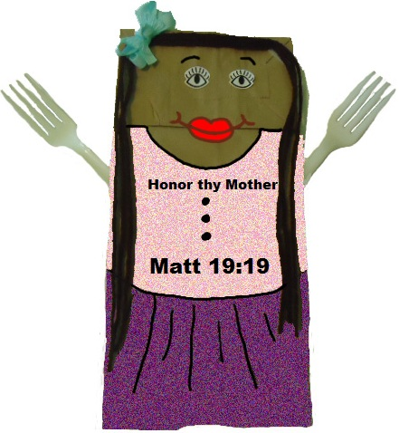 Church House Collection Blog: Mother's Day Lunch Bag Craft
