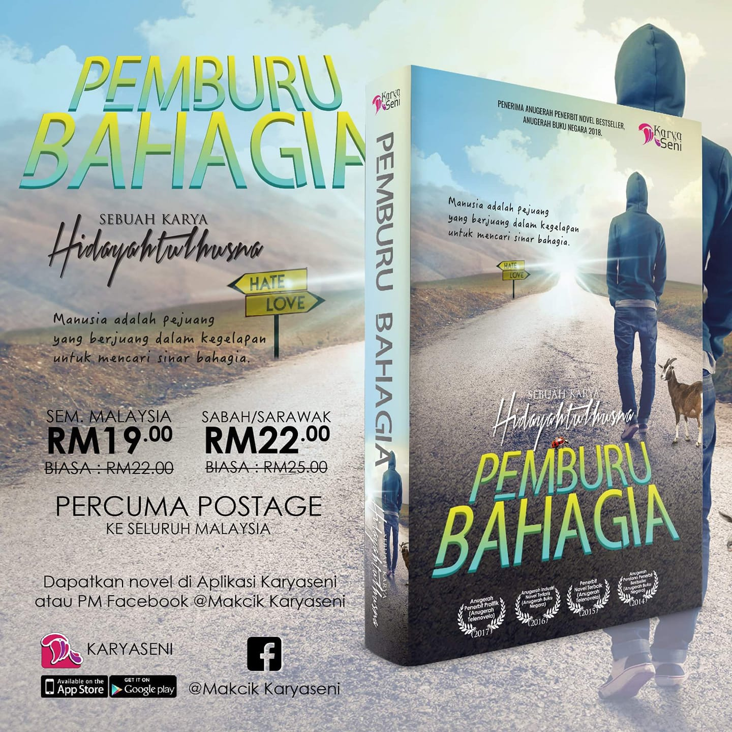 NOVEL PEMBURU BAHAGIA