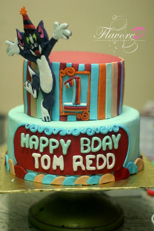 Tom Cake Colorful Birthday Cake For Boys Tom Cake For First