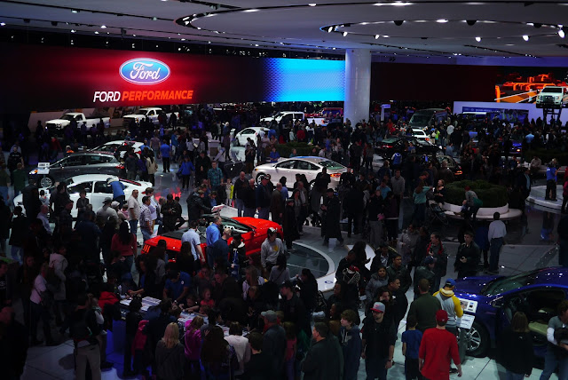 Ford Awes NAIAS Attendees With Engaging Auto Show Display