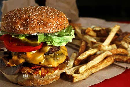 american food, burger, food network, Cheeseburgers , Five Guys