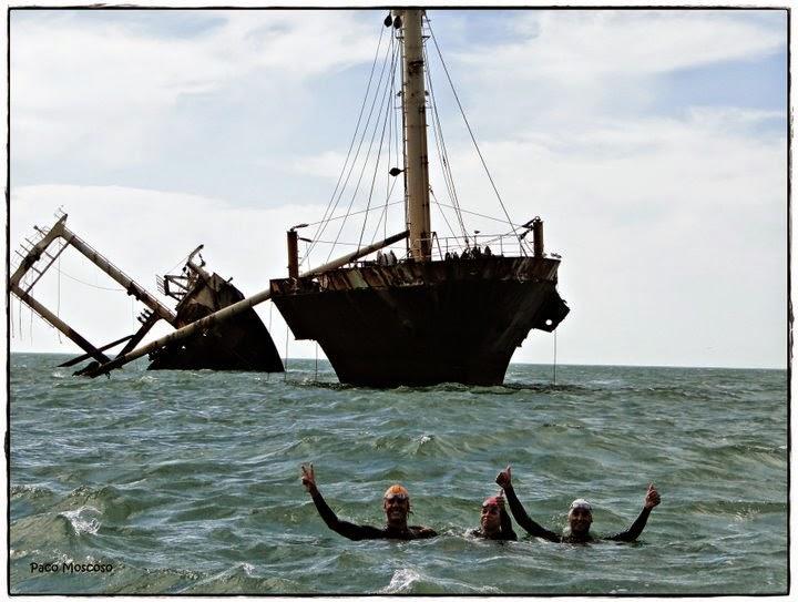 Travesia a nado Sanlúcar - Barco del arroz